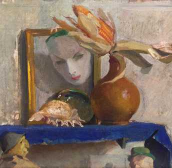 Barilli Latino - Still life with mask